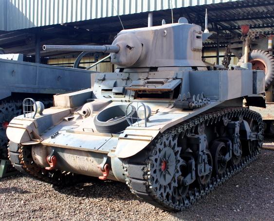 Viatura blindada Stuart M3A1